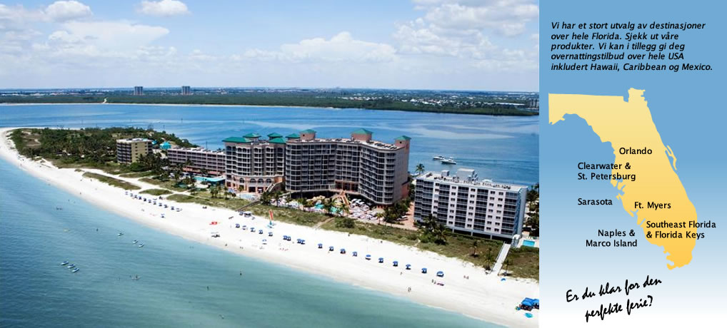 Velkommen til Condominium Rentals Florida Inc.